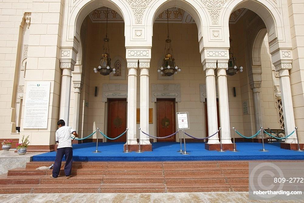 Jumeirah Mosque, Dubai, United Arab Emirates, Middle East