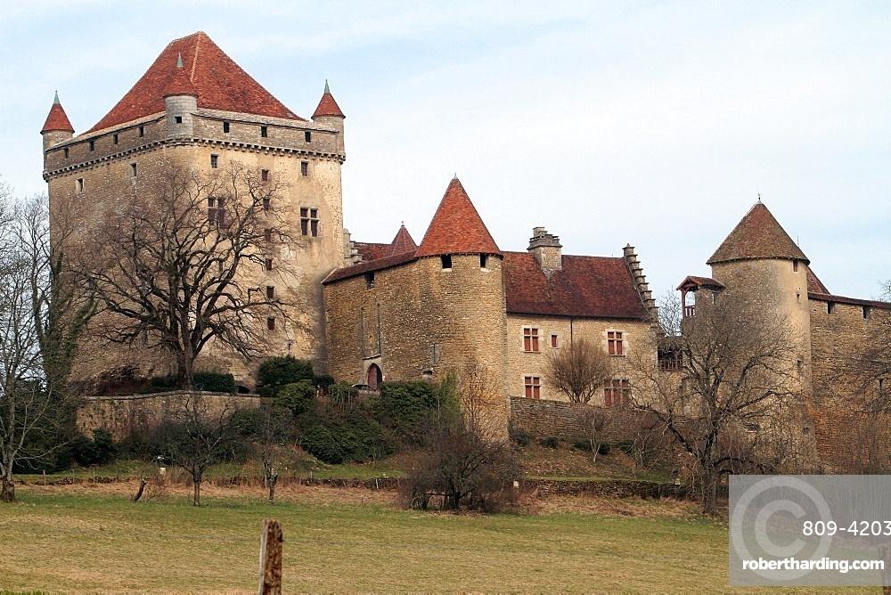 Chateau Du Pin Le Pin Stock Photo