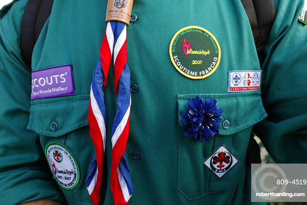 French Muslim scout, Paris, France, Europe