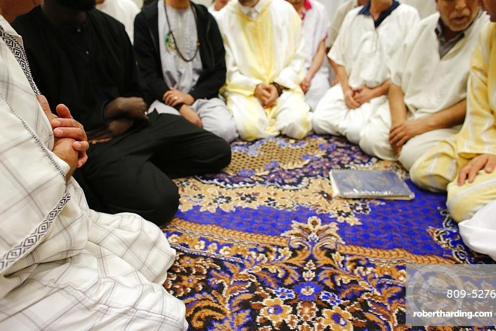 Sufi prayer, Essonne, France, Europe