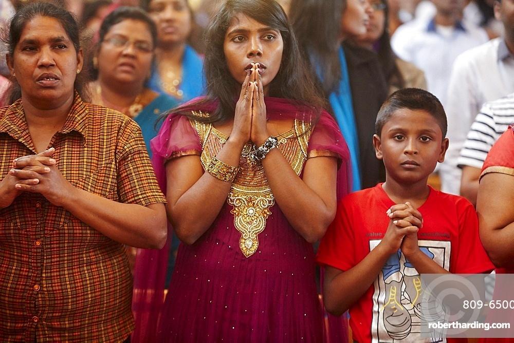Tamil Catholic celebration, Antony, France, Europe