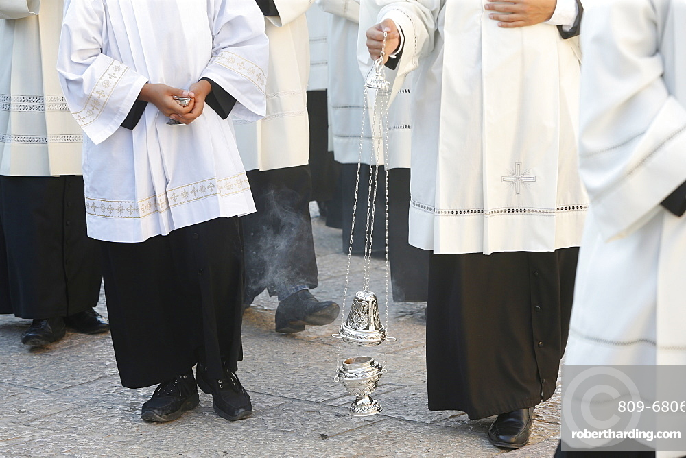Funeral of Bishop Mons. Luigi Martella in Depressa, Puglia, Italy, Europe
