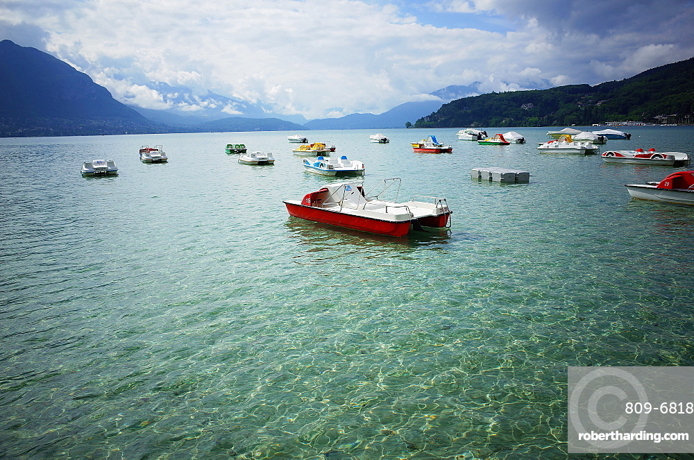 The Lake, Annecy, Rhone Alpes, France, Europe