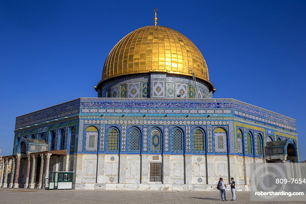 Dome of the Rock, UNESCO World Heritage Site, East Jerusalem, Israel, Middle East