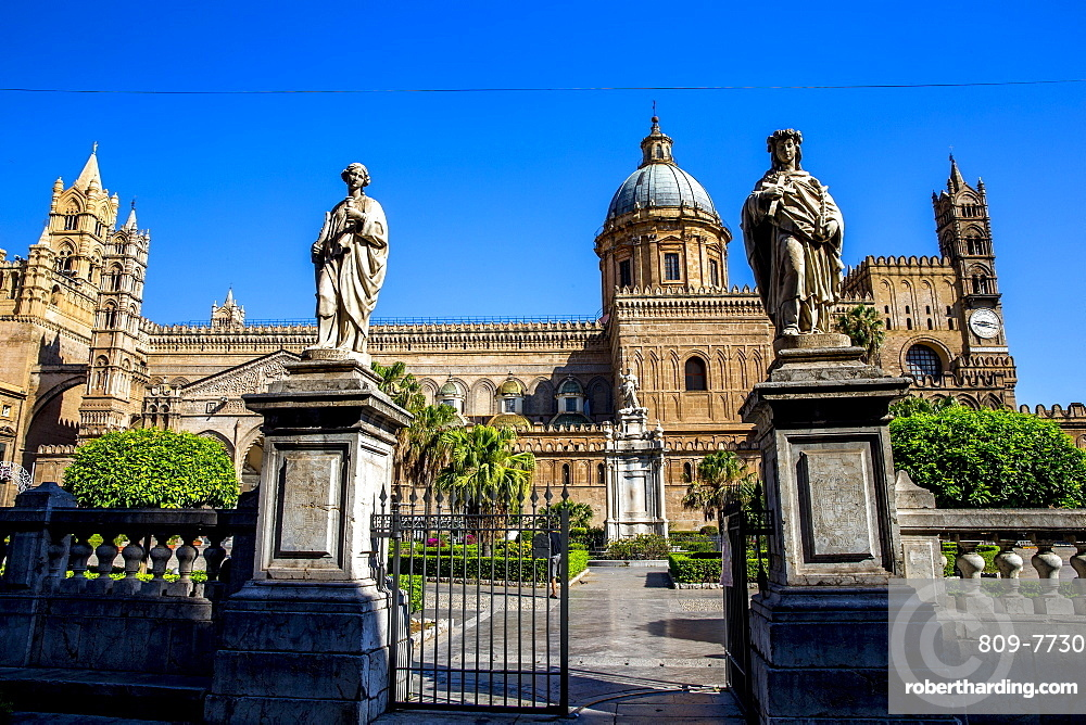 Our Lady of Assumption Cathedral, Palermo, Sicily, Italy, Europe