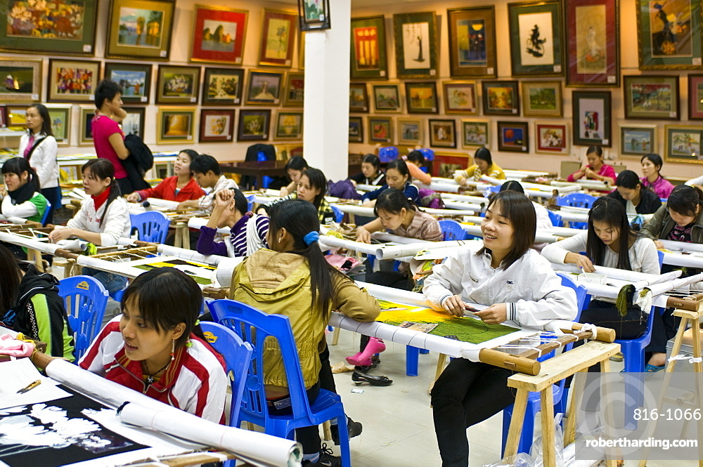Government painting school, Hanoi, Vietnam, Indochina, Southeast Asia, Asia
