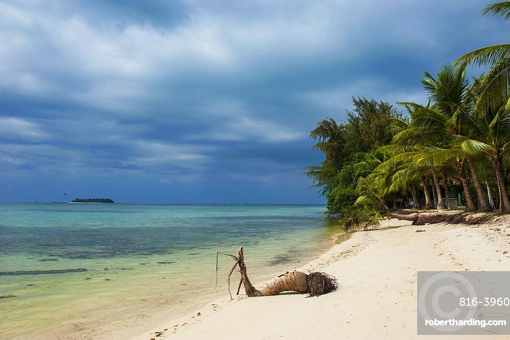 Micro beach on Garapan, Saipan, Northern Marianas, Central Pacific, Pacific