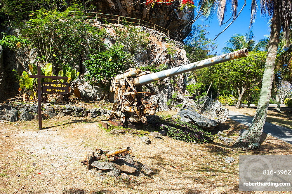 Last Japanese Command Post from World War II, Saipan, Northern Marianas, Central Pacific, Pacific