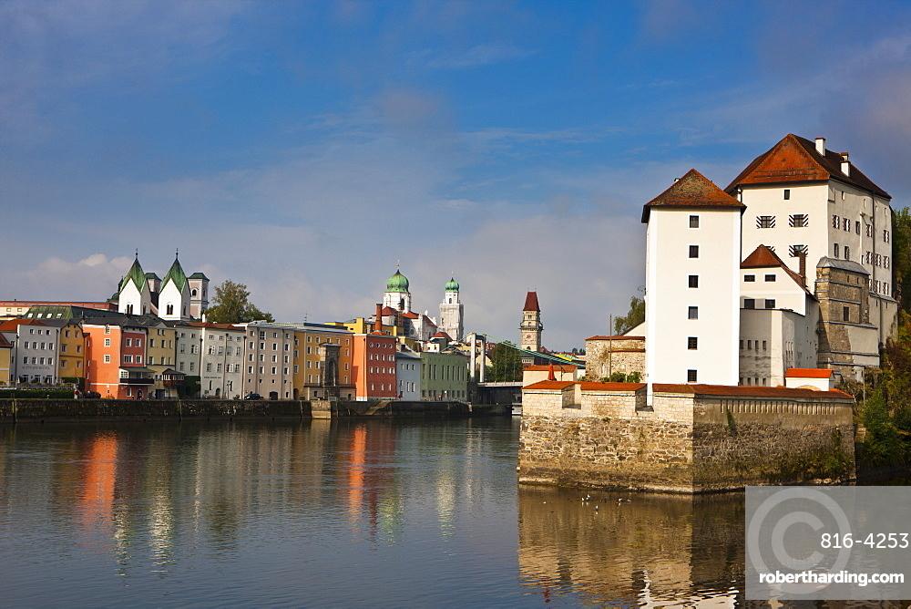 River Danube, Passau, Bavaria, Germany, Europe