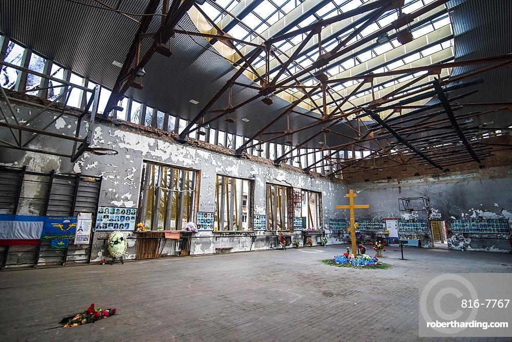 Memorial of the massacre of Beslan, Republic of North Ossetia-Alania, Caucasus, Russia, Eurasia