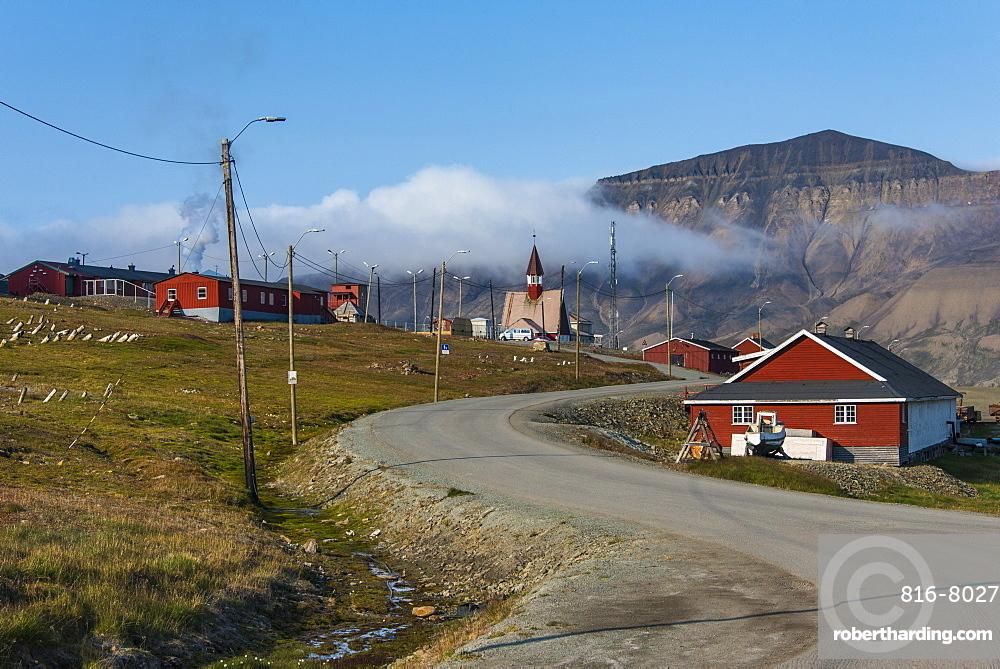 Longyearbyen, Spitsbergen, Svalbard, Arctic, Norway, Scandinavia, Europe