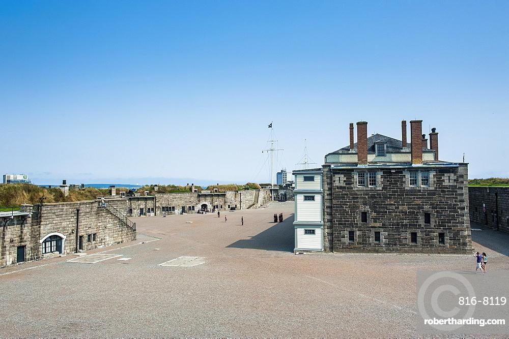 Fort George, Citadel Hill, a National Historic Site, Halifax, Nova Scotia, Canada, North America