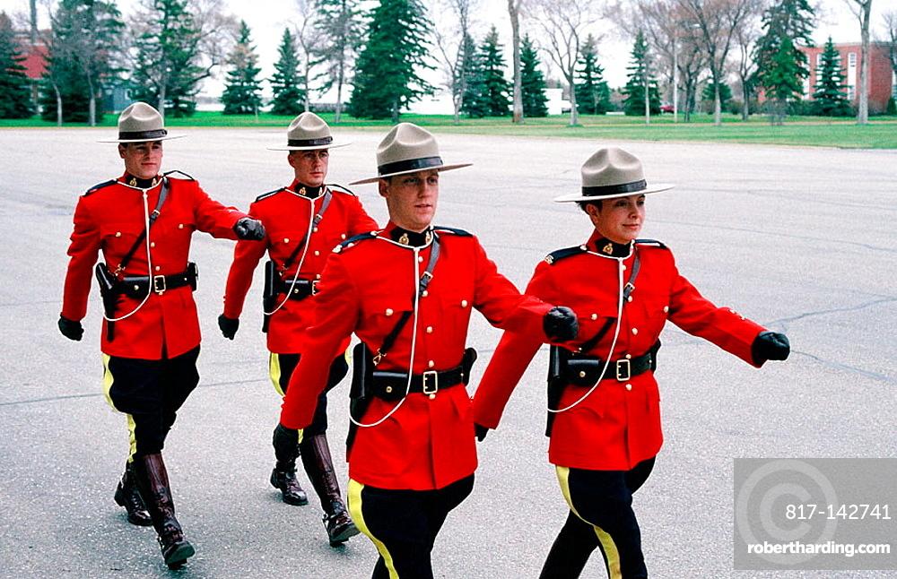 The Royal Canadian Mounted Police (RCMP), Training Academy, Ville de Regina, Saskatchewan Province, Canada