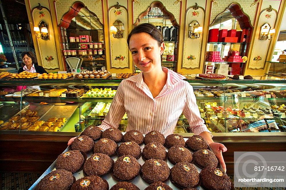 Miremont pastry shop, Biarritz, Aquitaine, Pyrenees-Atlantiques, France