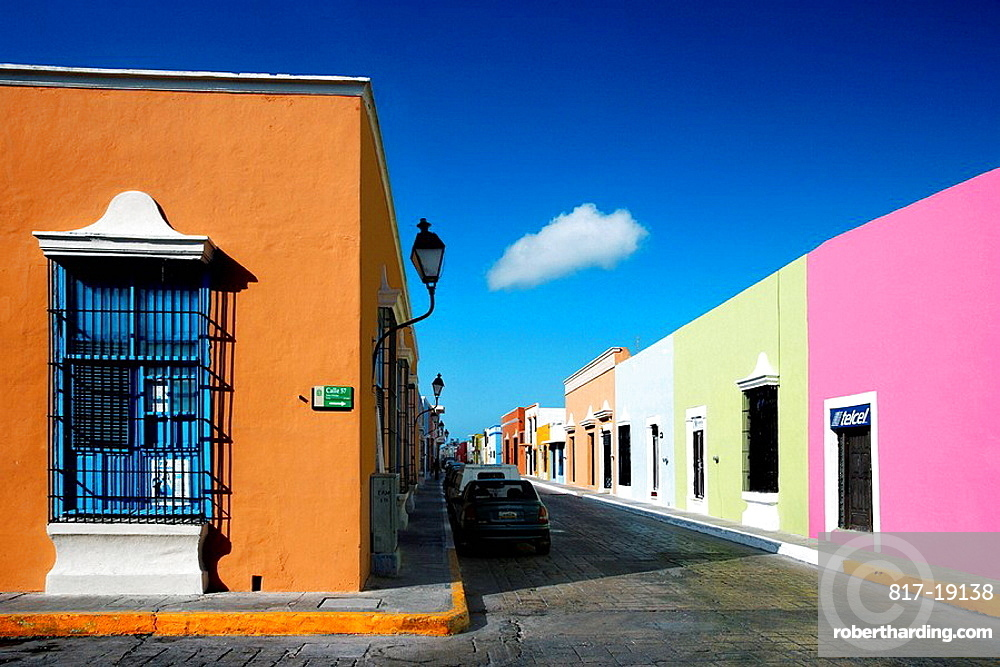 Colonial Campeche City (W.H.), Mexico