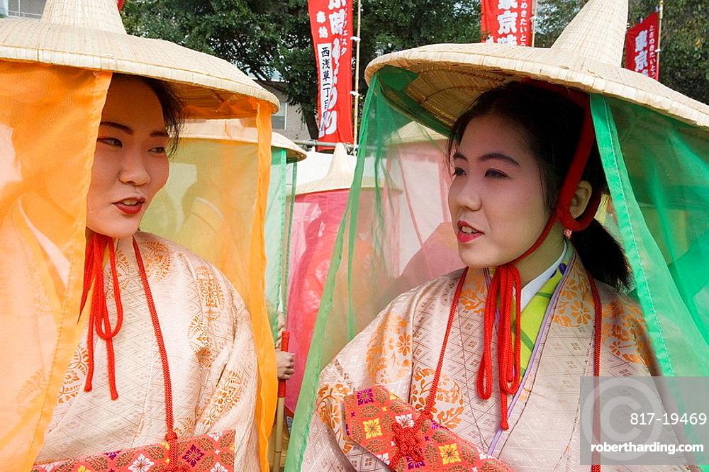 Nov.2007, Japan, Tokyo City, Jidai Festival