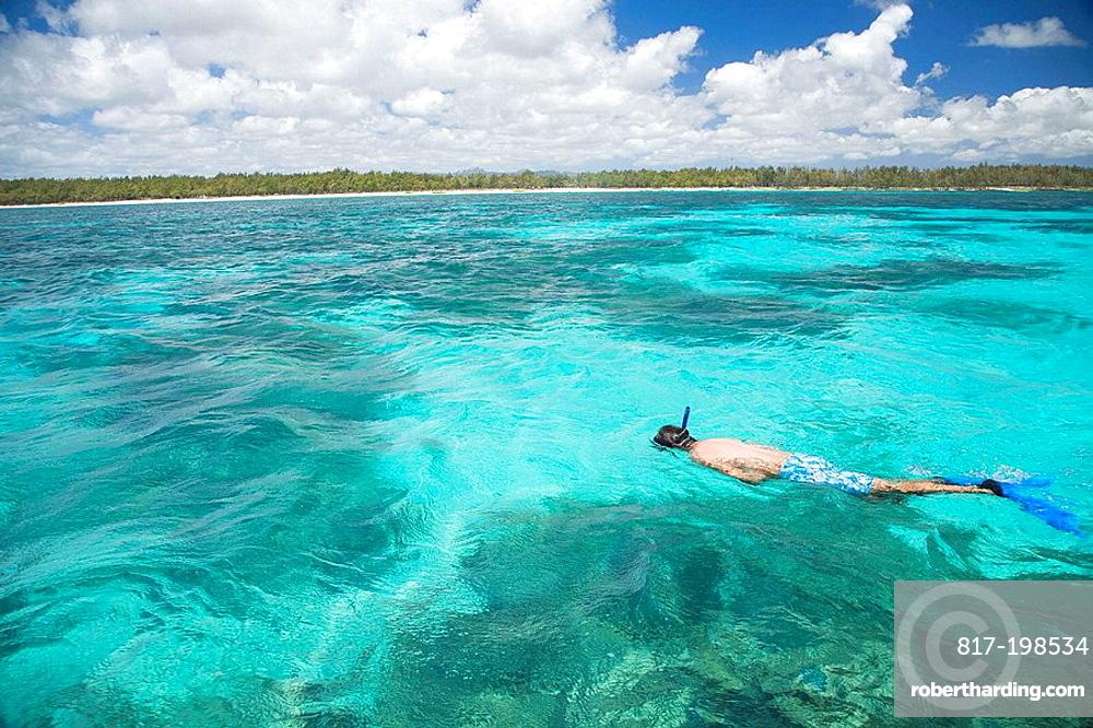 Isla Mauricio, snorkeling