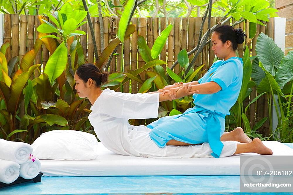 Traditional Thai Massage, Hua Hin, Thailand