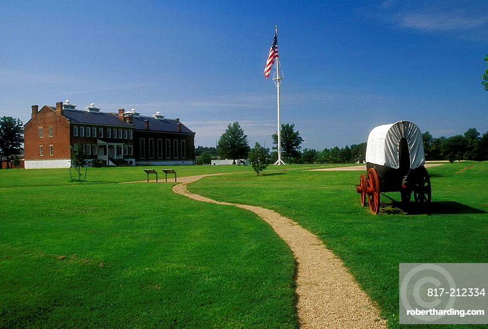 Second Fort Smith, Fort Smith National Historic Site, Arkansas, USA
