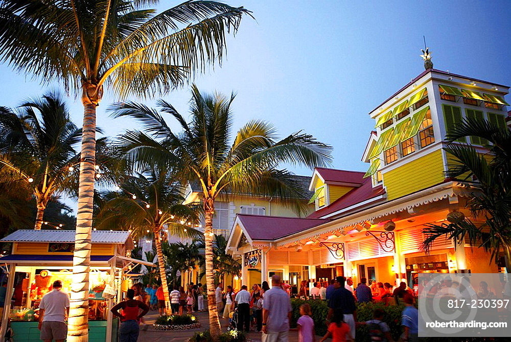 Bahamas New Providence Island Nassau Stock Photo
