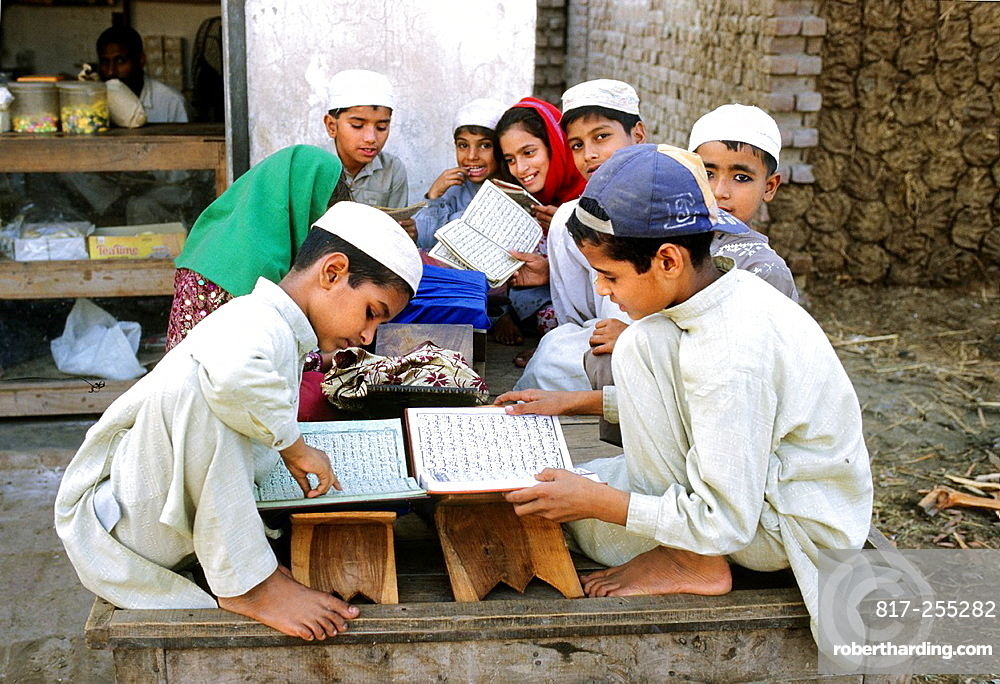 Pakistan, Punjab, Lahore, Koranic school