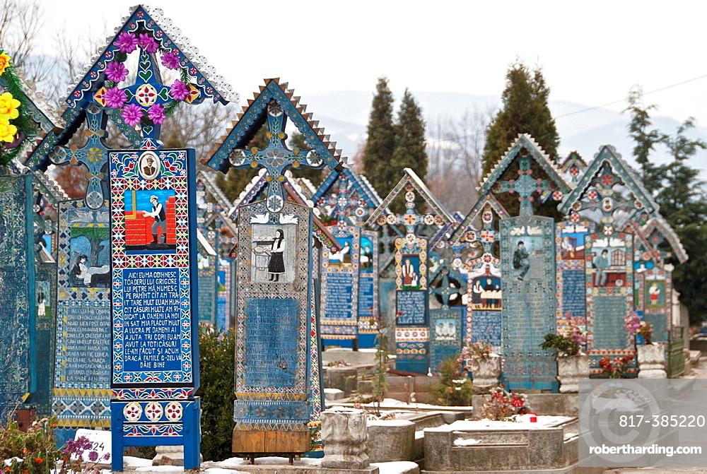 Merry Cemetery, Sapanta, Maramures, Romania