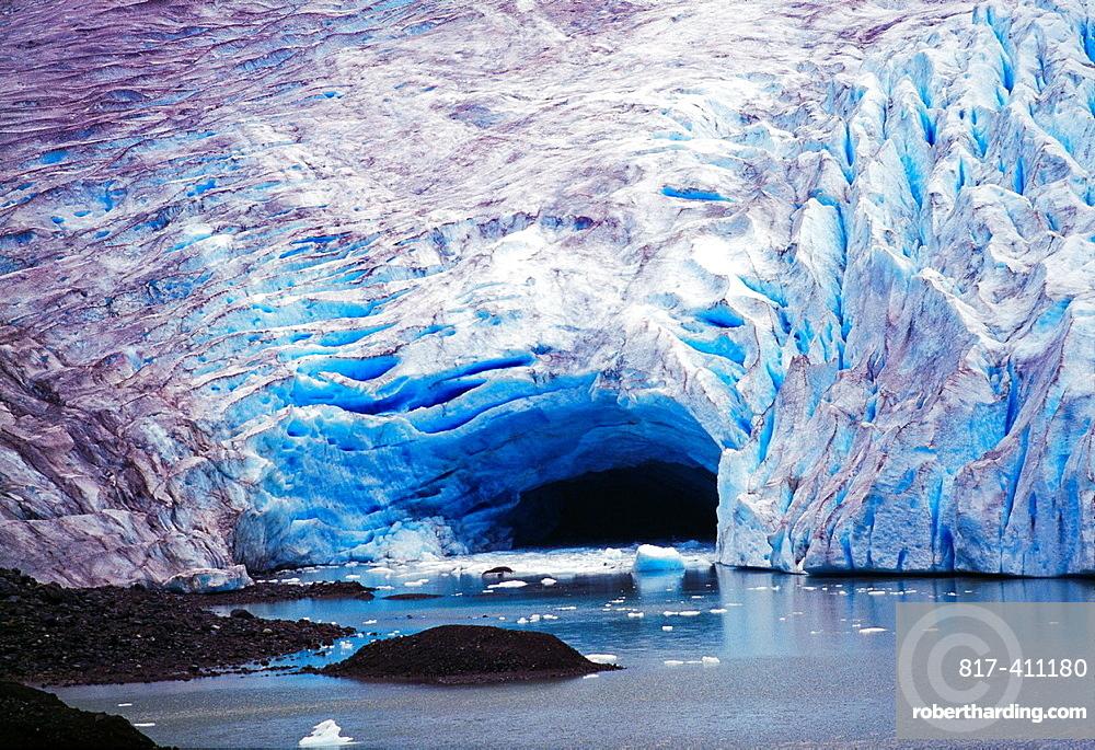 Bear Glacier Bear Glacier Provincial Park British Columbia Canada.