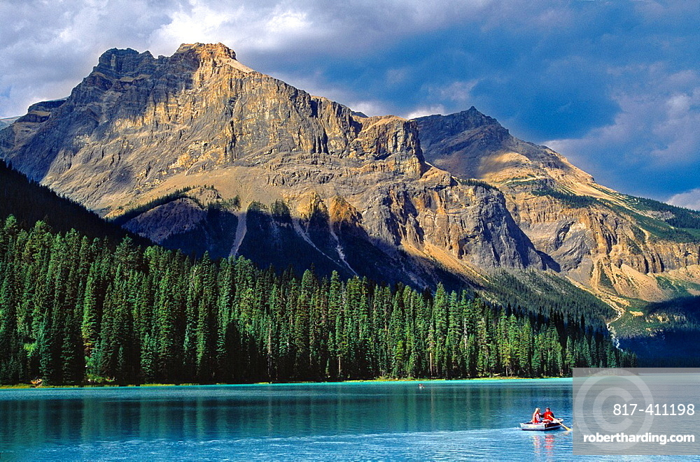 Emerald Lake, Yoho National Park Rocky Mountains British Columbia Canada.