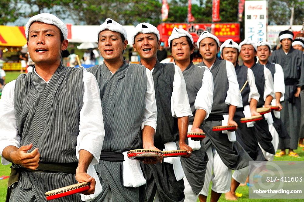 Uruma City, Okinawa, Japan, Eisa dances