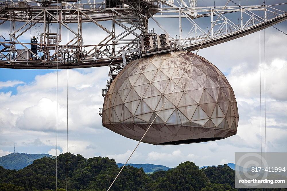 World's Largest Single-dish Radio Telescope, Arecibo Observatory, Arecibo, Puerto Rico
