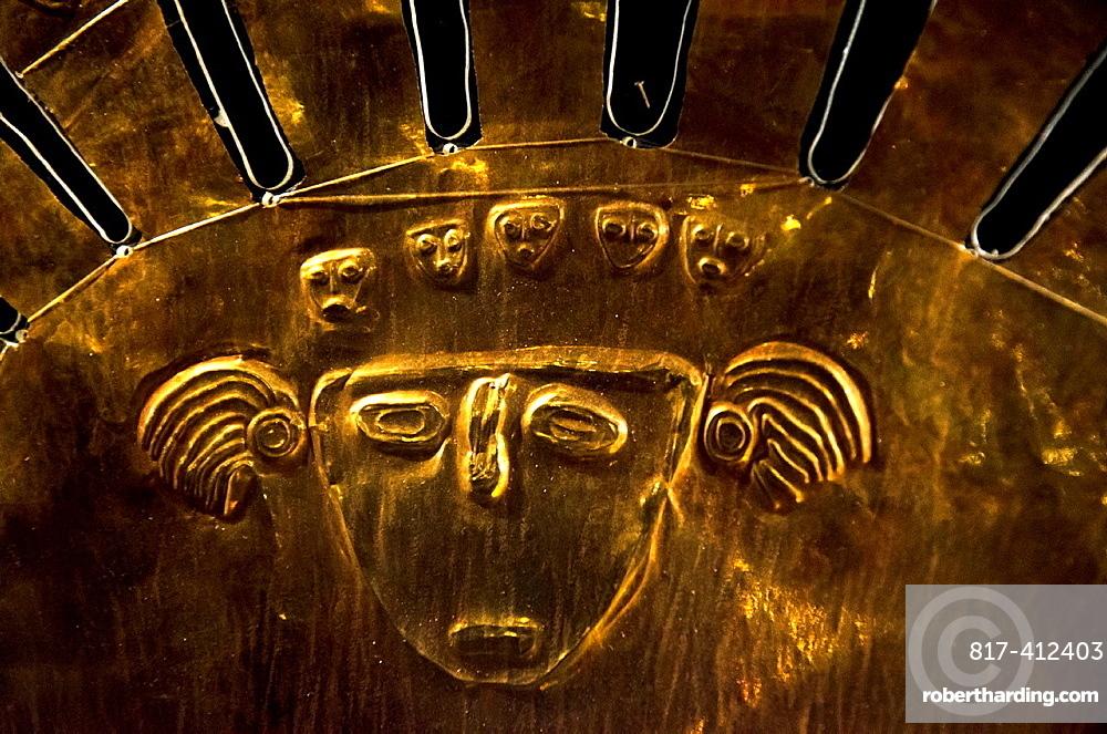 Pre-Columbian Jewelry Lambayeque/Sican culture 700 AC-1375 AC Peru