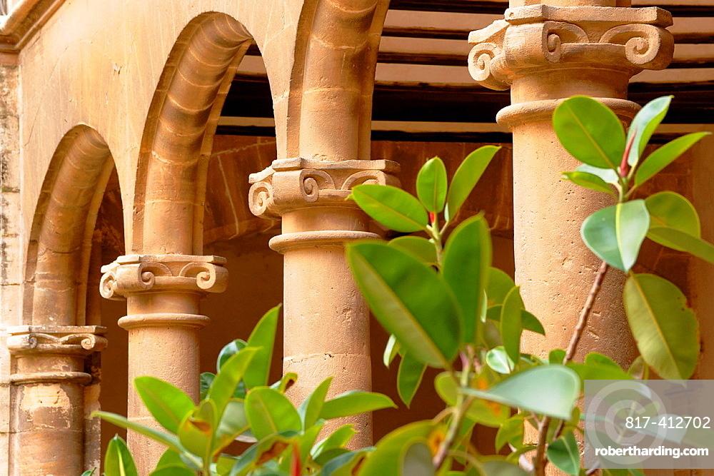 Faculty of Monti-Sion, Es Call, Jewish district, Centro Historico, Palma, Mallorca, Spain Balearic Islands