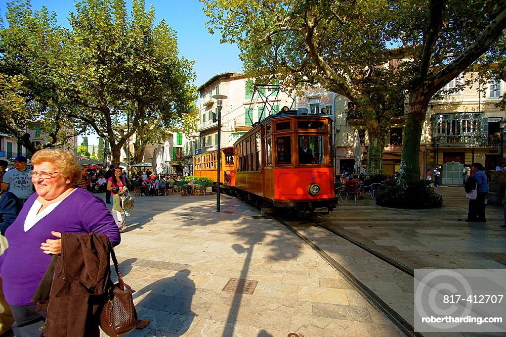 Soller Tram Sierra de Tramuntana Majorca Balearic Espana