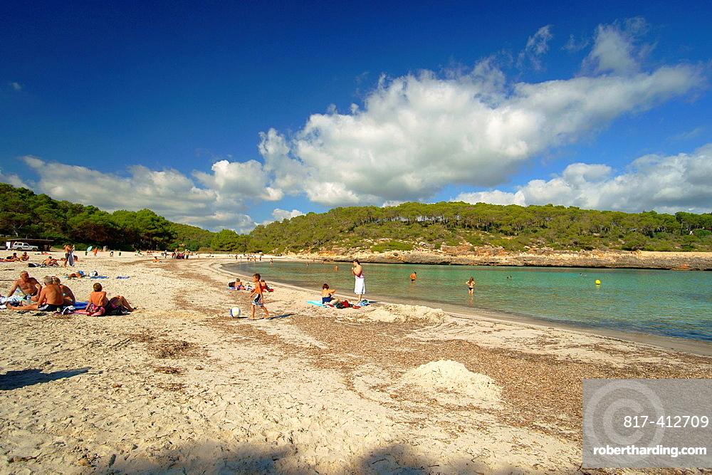 SÂ¥Amarador, Natural Park Mondrago, Santanyi, Migjorn, Mallorca, Balearic Islands, Spain