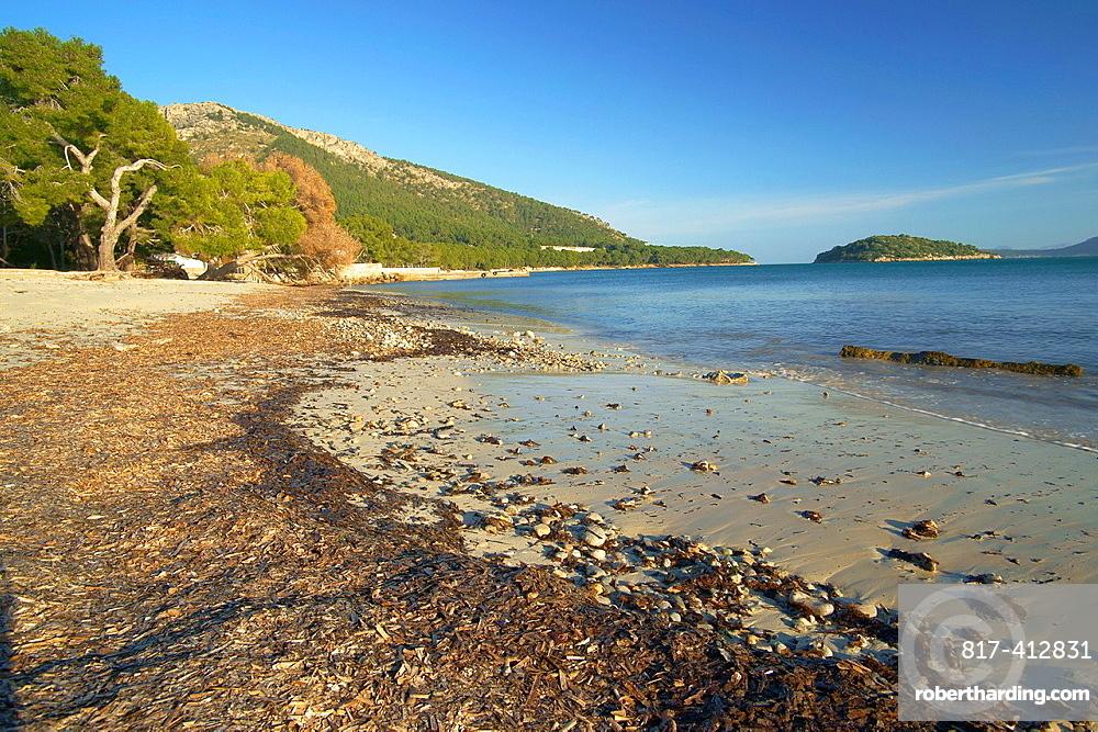 Playa de Formentor Pollenca Formentor Peninsula, Spain Baleares Mallorca