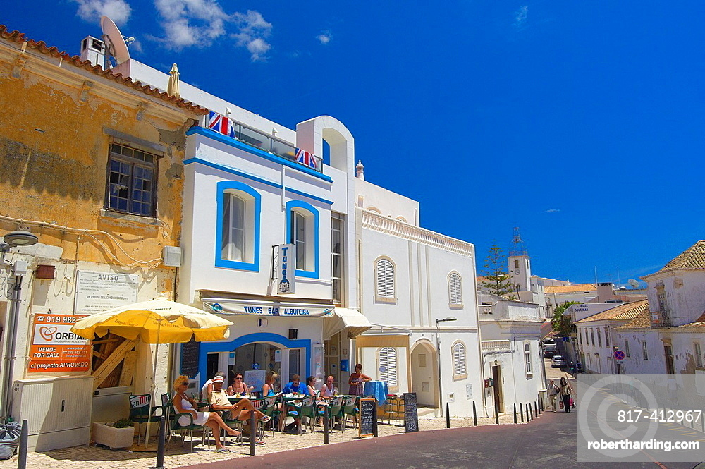 Albufeira, Old Town, Algarve, Portugal, Europe.