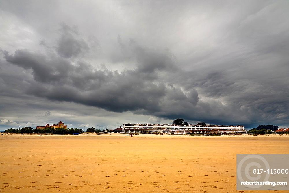Apartments in the Berria beach Santander Cantabria Spain
