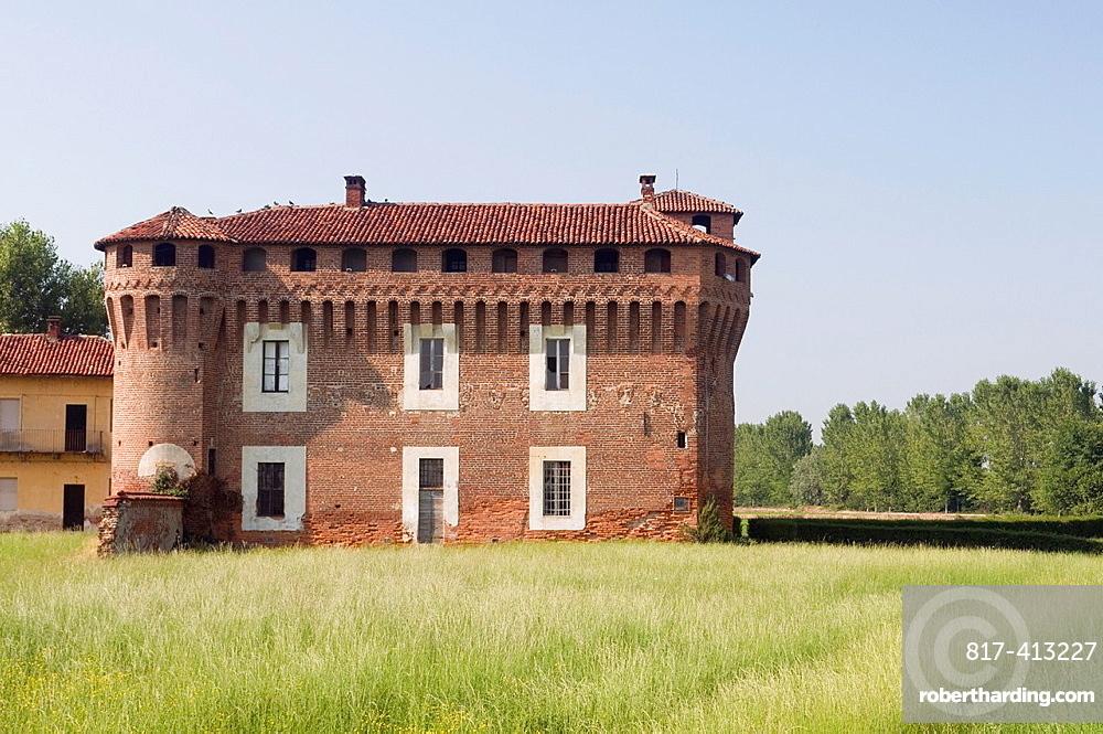 Castle of Proh, Briona, Novara province, Piedmont, Italy