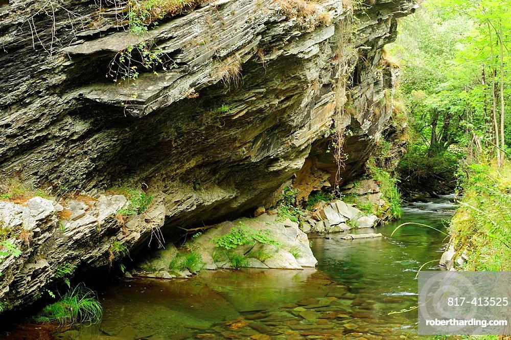 River Lor in O Courel Mountains Lugo, Galicia, Spain