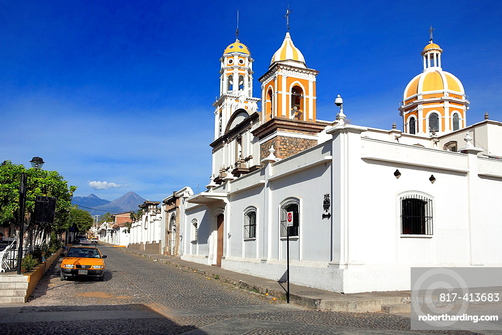 Church, Comala, Colima, Mexico