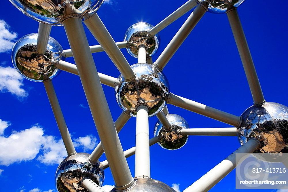 Atomium 1958, by Andre Waterkeyn, Brussels, Belgium