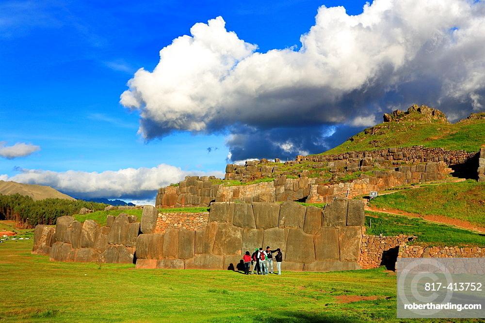 Sacsayahuaman archaeological site, Cuzco, Peru