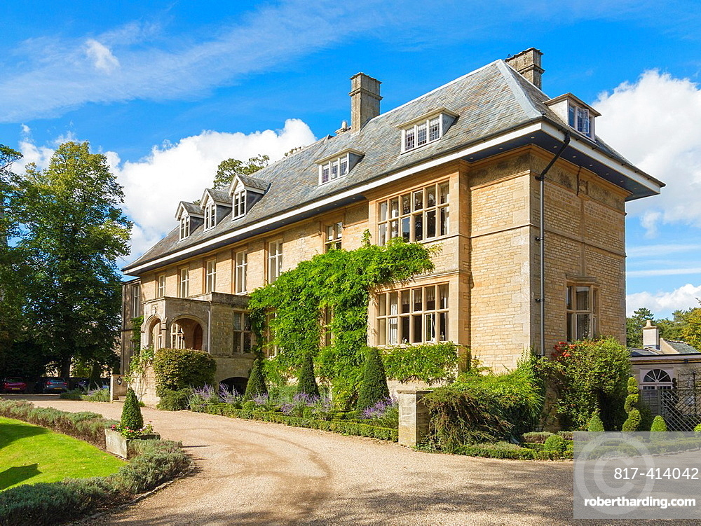 Lower Slaughter Manor, Lower Slaughter in the Cotswolds, England, United Kingdom