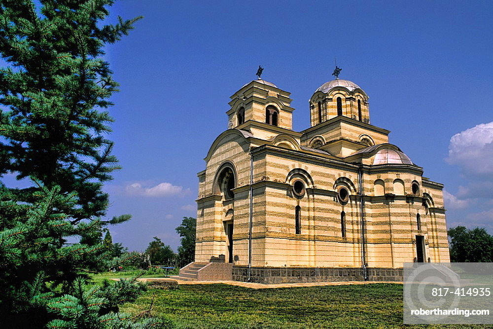 Catholic Church beauty in Pristina Montenegro