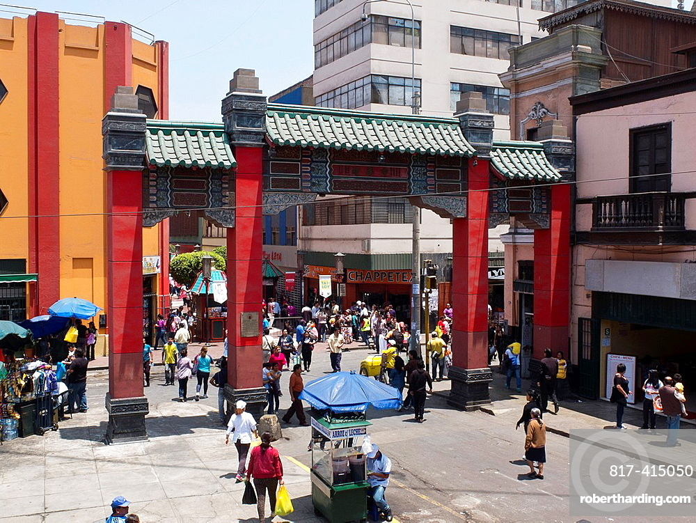 Chinatown in Lima city Peru