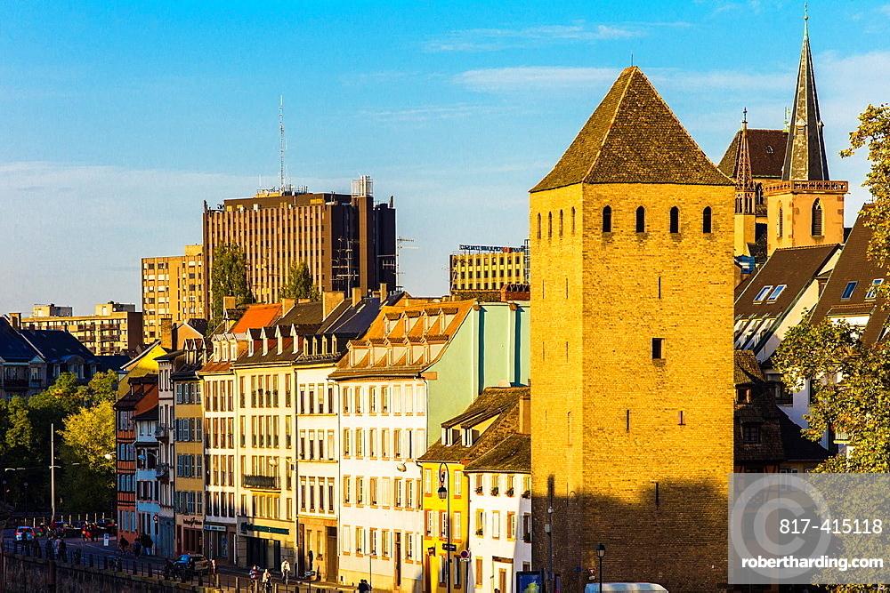 Ponts Couverts bridge tower Strasbourg Alsace France