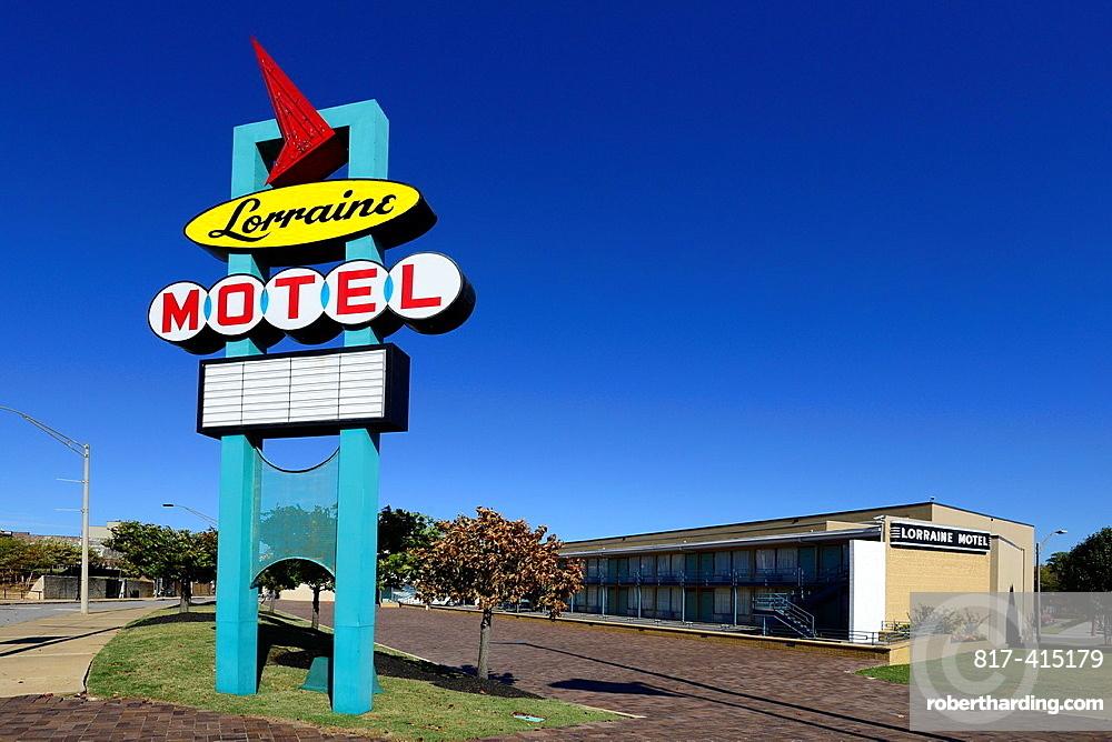 Lorraine Motel Martin Luther King Assassination Memphis Tennessee TN