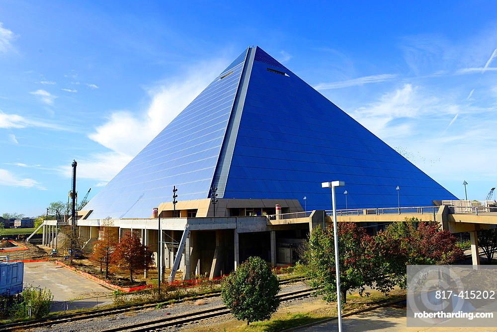 Great American Pyramid Arena Memphis Tennessee TN