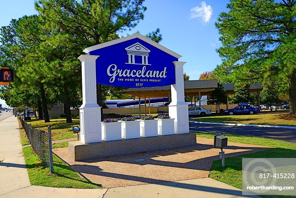 Graceland Museum Elvis Presley Mansion Memphis Tennessee TN