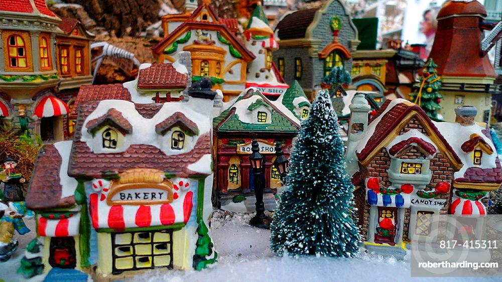 Christmas model village